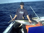 ANGLER: Phil Parkison SPECIES: Yellowfin Tuna WEIGHT: 30 Kg
